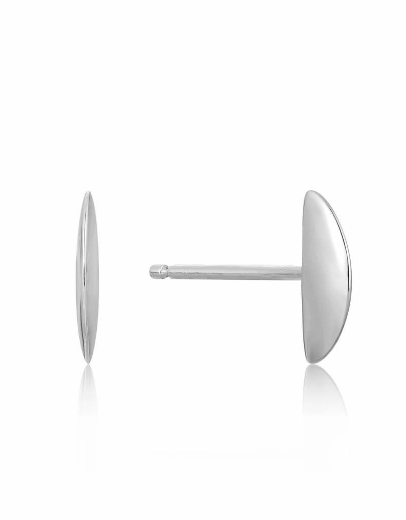 Ania Haie Ania Haie - Semi circle stud earrings Silver