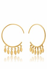 Ania Haie Ania Haie - Multi-drop hoop earrings