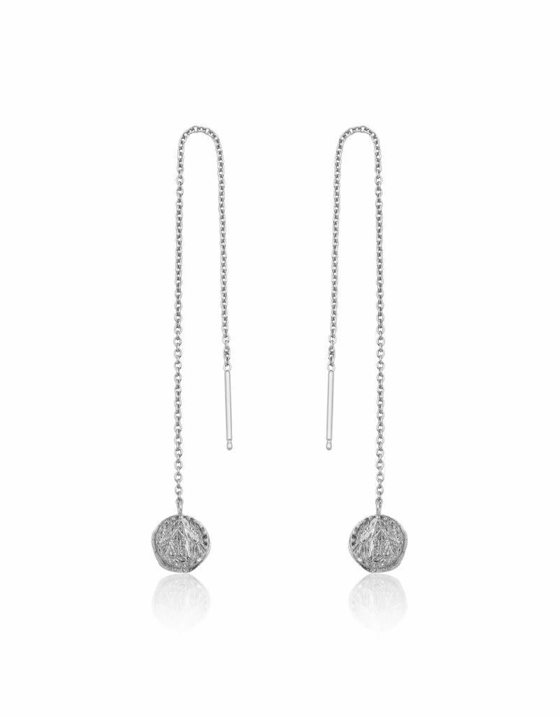 Ania Haie Ania Haie - Deus threader earrings silver