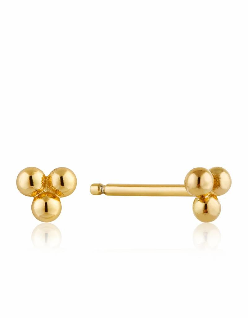 Ania Haie Ania Haie - Modern triple ball stud earrings
