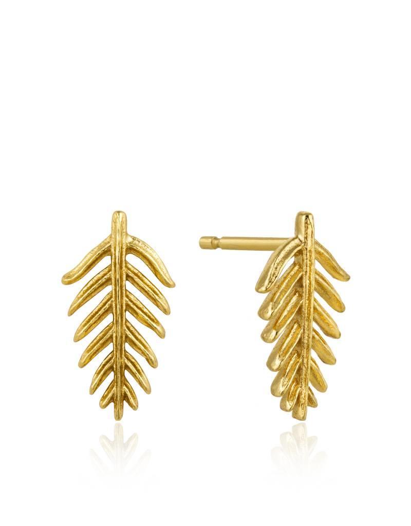Ania Haie Ania Haie - Palm stud earrings