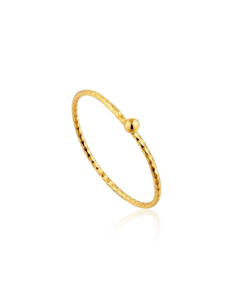 Ania Haie Ania Haie - Texture small ball ring