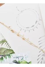 Ania Haie Ania Haie - Tropic double bracelet