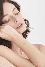 Ania Haie Ania Haie - Twist chain circle bracelet