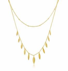 Ania Haie Ania Haie - Tropic double Necklace
