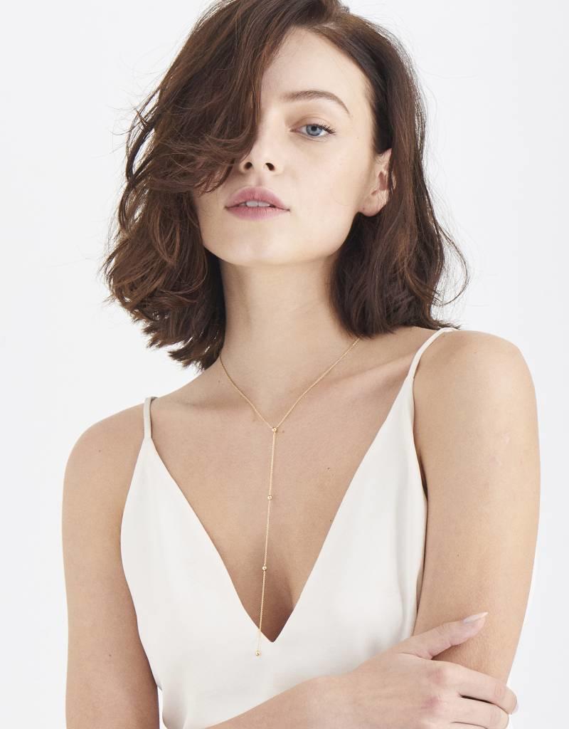 Ania Haie Ania Haie - Modern beaded Y necklace