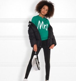 Nik&Nik Nik & Nik - Jade green sweater Mrs.