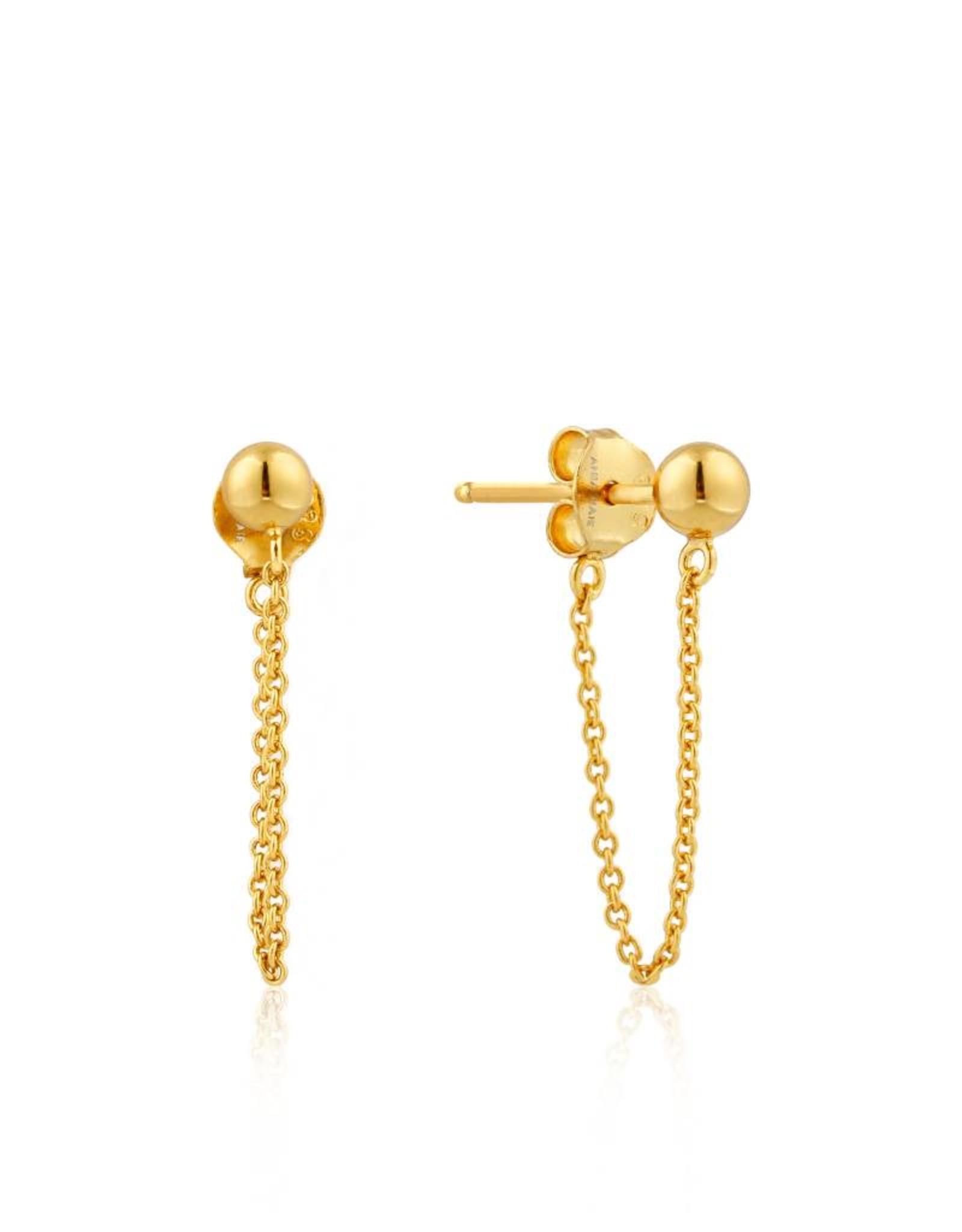 Ania Haie Ania Haie - Modern chain stud earrings