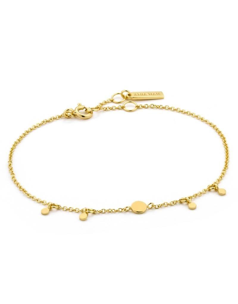 Ania Haie Ania Haie - Geometry drop disc bracelet