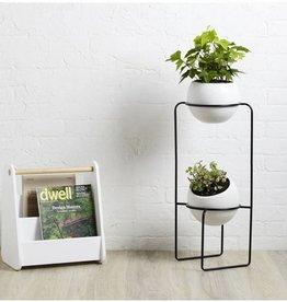 Umbra Umbra - Nesta Tiered planter wht