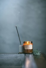 P.F. candle co PF - Teawood & Tobacco  small