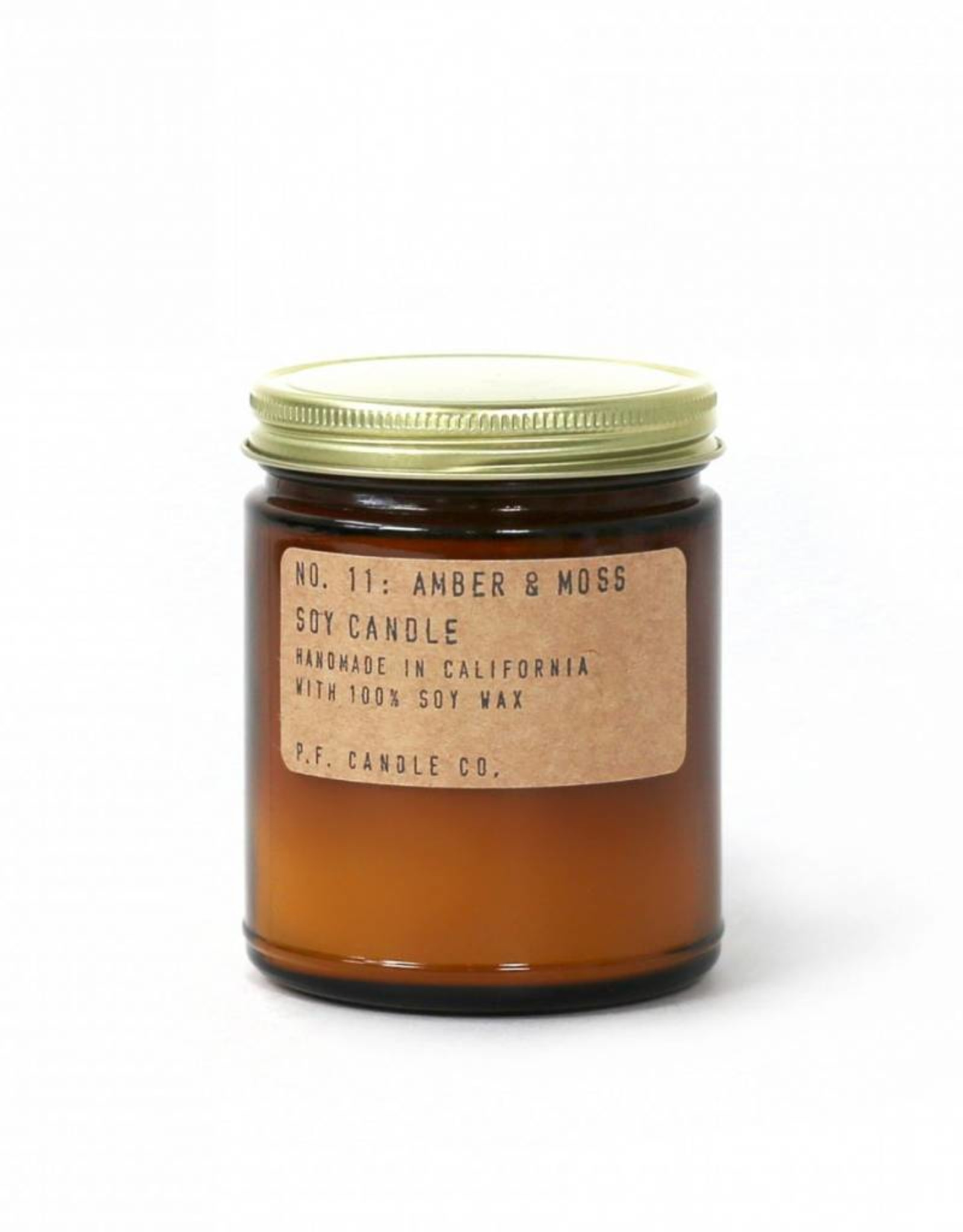 P.F. candle co PF - Amber & Moss  small
