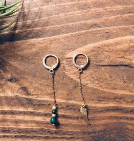 Mme Bovary Mme Bovary - Hoop lang - Veer/groene parel
