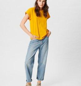 Moss Copenhagen MSCH - Crystal Straight jeans