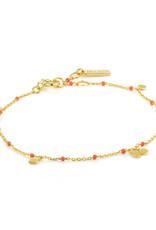 Ania Haie Ania Haie - Dotted drop disced bracelet