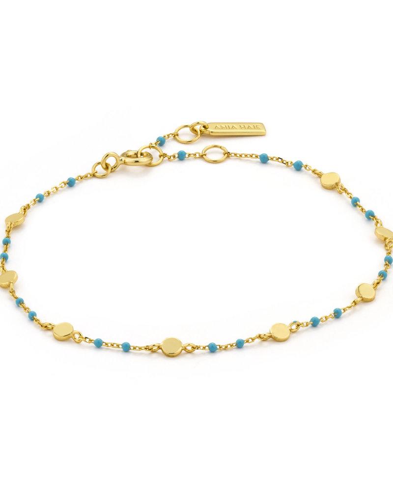 Ania Haie Ania Haie - Dotted discs bracelet