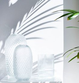 Fést Fést - Facet  Vase Transparant - L