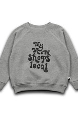 Cos i said so Cos i said so - My mom local sweater - Grey