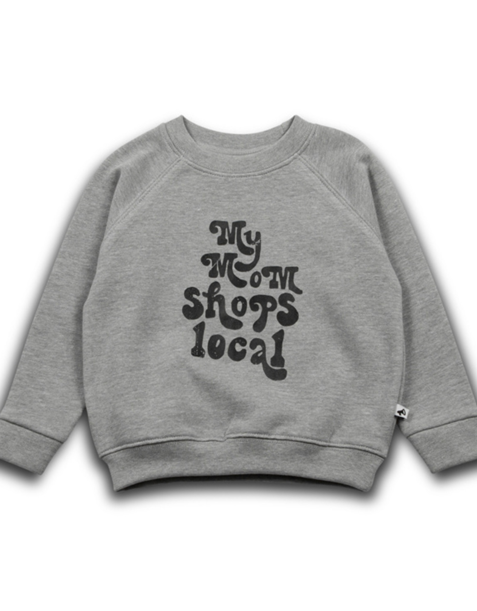 Cos i said so - My mom local sweater - Grey