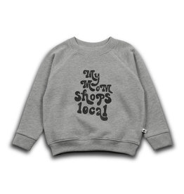 Cos i said so Cos i said so - My mom local sweater - Grey