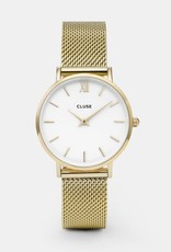 Cluse Cluse - Minuit Mesh Gold/White