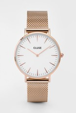 Cluse Cluse- La Boheme Mesh Rose gold White