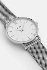 Cluse Cluse - Minuit Mesh Silver/white