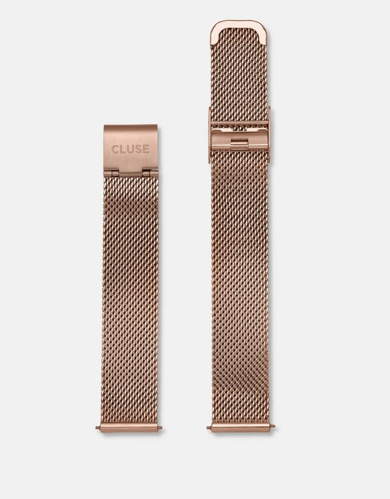 Cluse Cluse - Minuit strap - Mesh Rose Gold