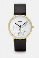 Cluse Cluse - La Roche Gold White Marble/Black