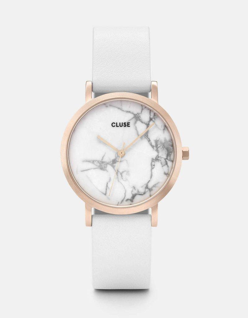 Cluse Cluse- La Roche Petite Gold White Marble/White