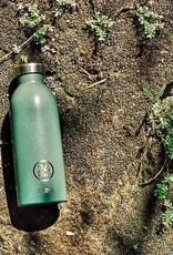 24 Bottles 24 Bottles - Clima  Bottle - Rustic Moss green