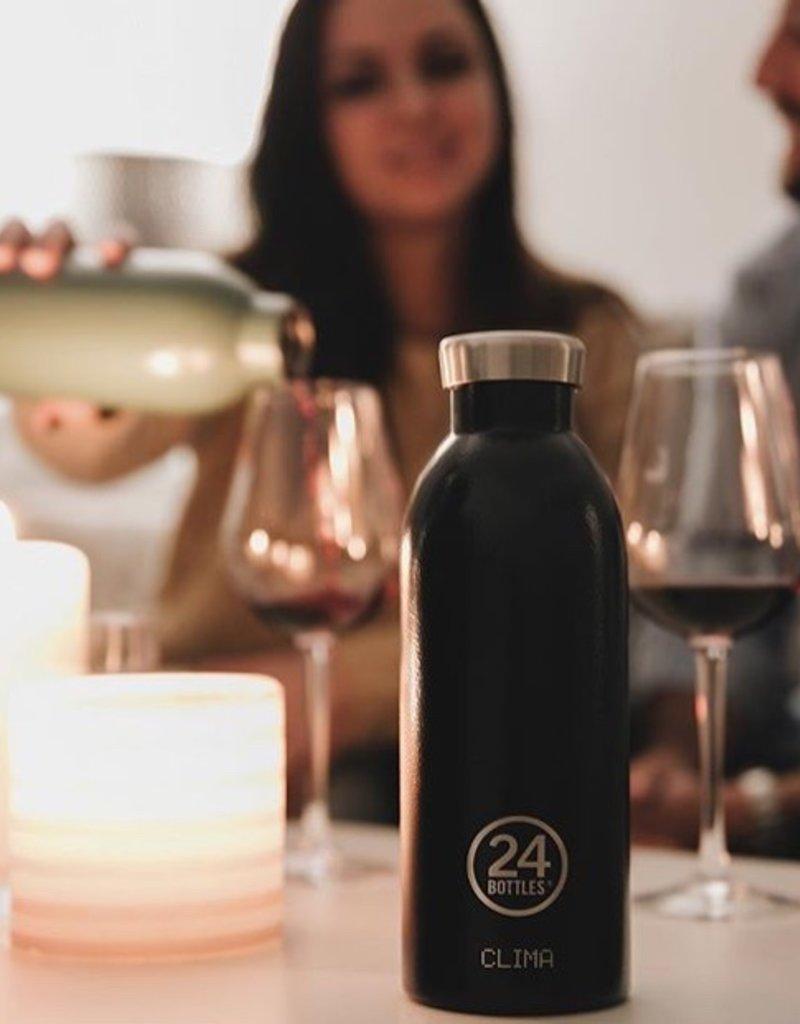 24 Bottles 24 Bottles - Clima  Bottle - Rustic Deep blue