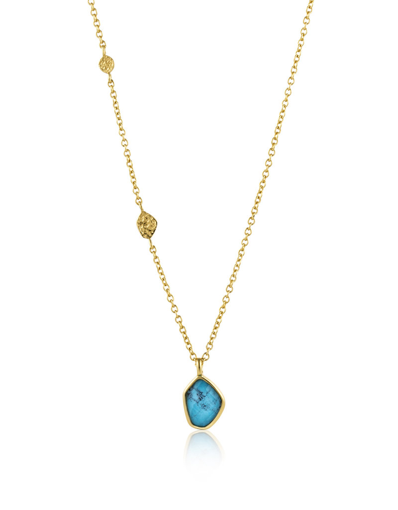 Ania Haie Ania Haie - Turquoise pendant necklace