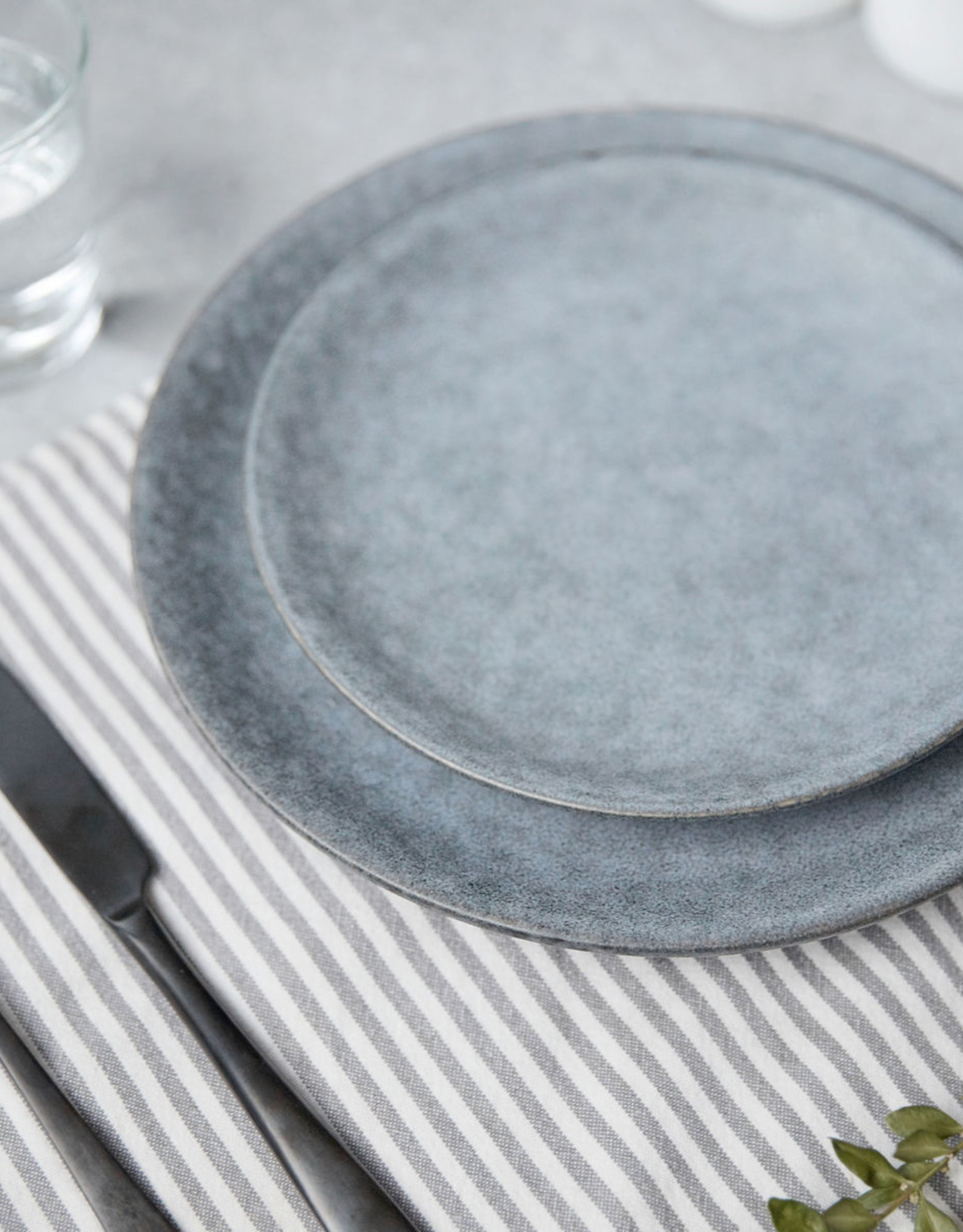 House Doctor House Doctor - Plate small - Grey stone