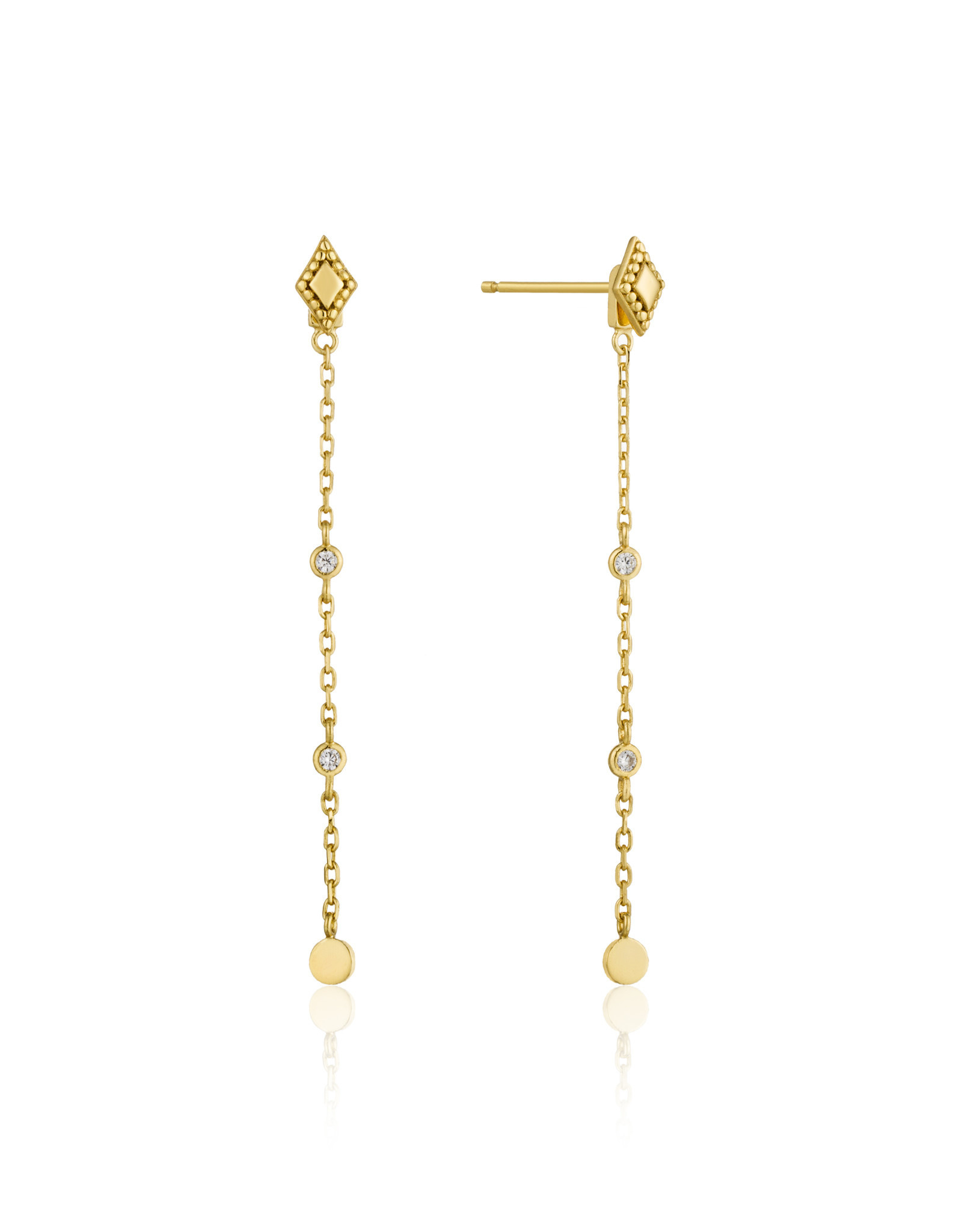 Ania Haie Ania Haie - Bohemia drop earrings gold