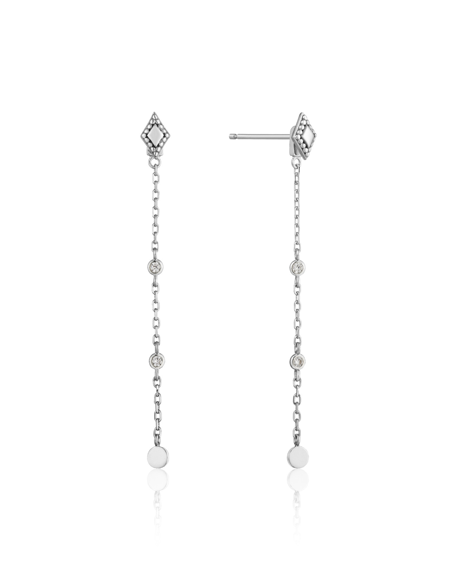 Ania Haie Ania Haie - Bohemia drop earrings silver