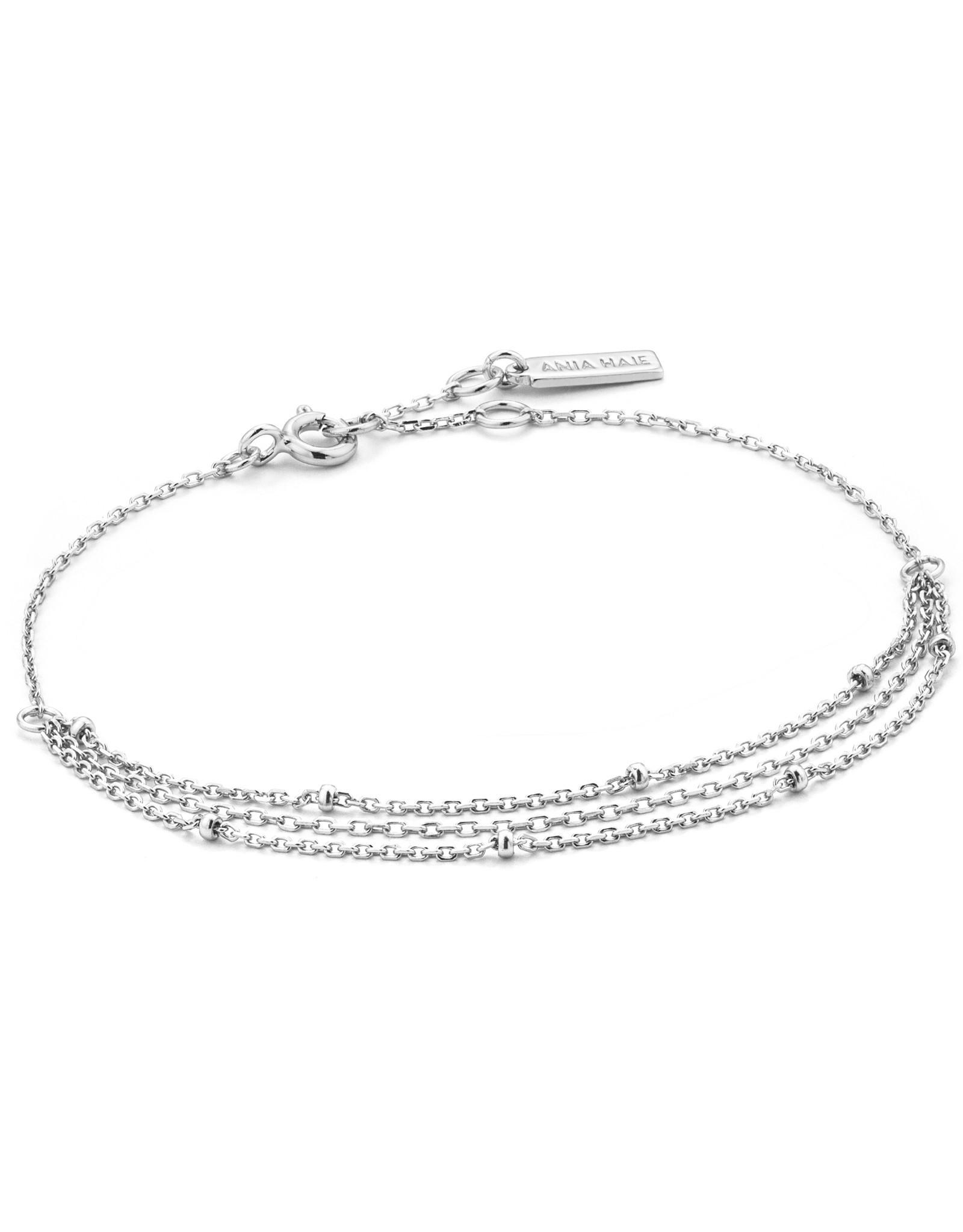 Ania Haie Ania Haie - Draping swing bracelet silver