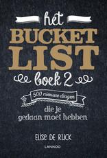 Lannoo Lannoo- Bucketlistboek 2.0
