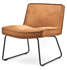 By Boo By Boo - Lounge chair Montana - Cognac touareq