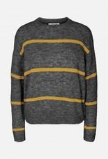 Moss Copenhagen MSCH - Pullover Alpaca stripe pullover