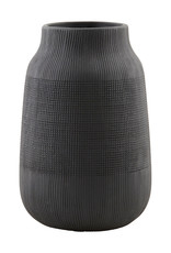 House Doctor House Doctor - Vase Groove Black Medium