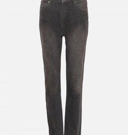 Moss Copenhagen MSCH - Crystal Mom jeans - Grey Wash