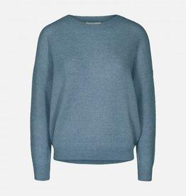 Moss Copenhagen MSCH - Femme Mohair pull - provincial blue