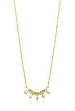 Ania Haie Ania Haie - Glow solid bar necklace