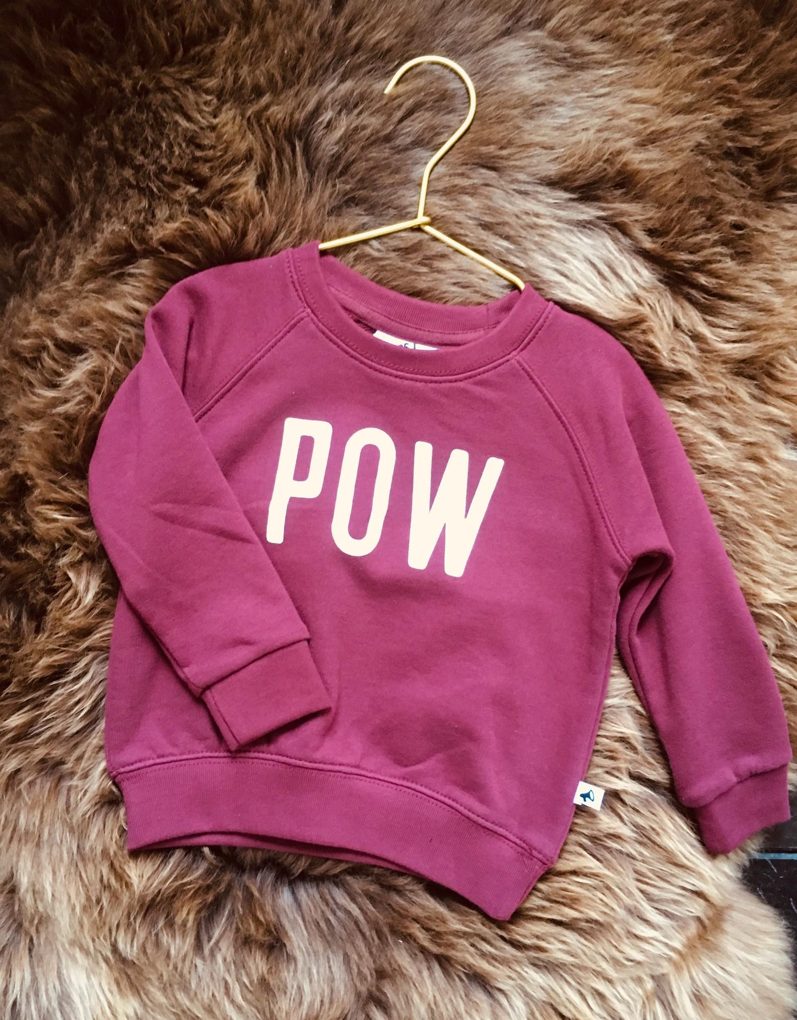 Cos I said so - sweater pow wow