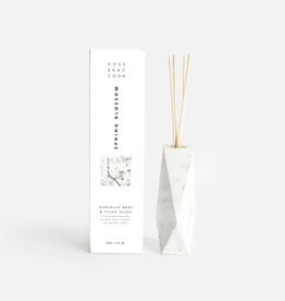 House Racoon House Racoon - Amava Scent diffuser - White marble - Spring Blossom