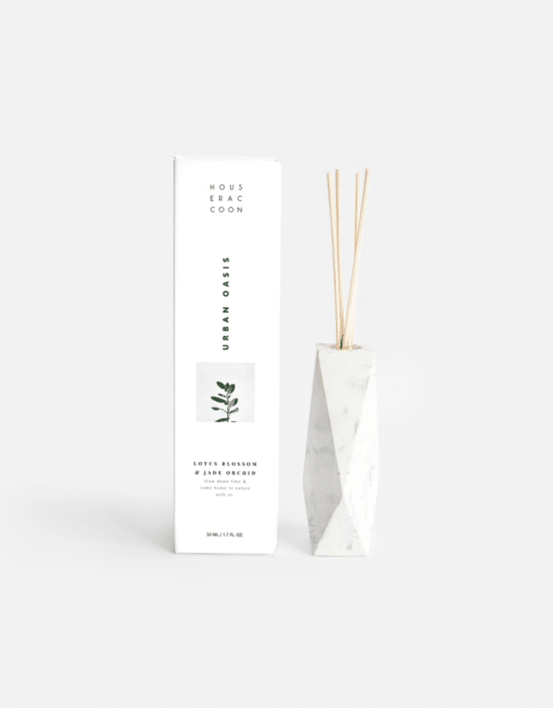 House Racoon House Racoon - Amava Scent diffuser - White marble - Urban Oasis