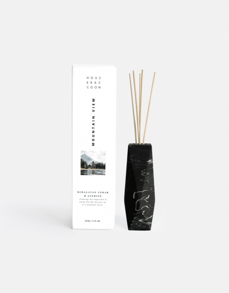 House Racoon House Racoon - Amava Scent diffuser - black marble - Mountain Vieuw