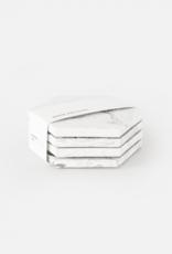 House Raccoon House Raccoon - Dalbane coasters - White marble