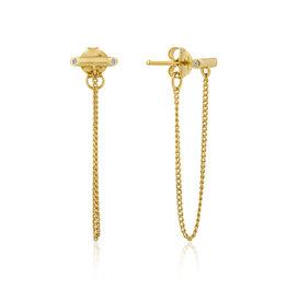 Ania Haie Ania Haie - Shimmer chain stud earrings